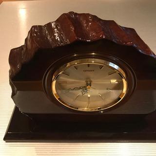 CITIZENの置き時計売ります