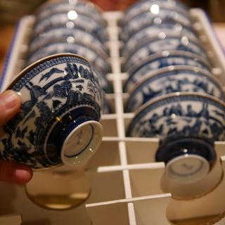 茶碗 古い物ですが新品 14個 処分の為無料 四条烏丸付近受け渡しの方の画像