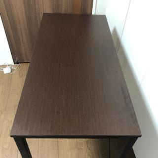 テーブル(直接車にて受け取りに来てもらえると助かります)48cm×100cm×75cm - 家具