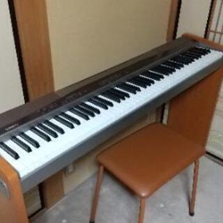 CASIO電子ピアノ (イス付)