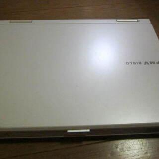 (値下げ)富士通 FMV-BIBLO NF50W