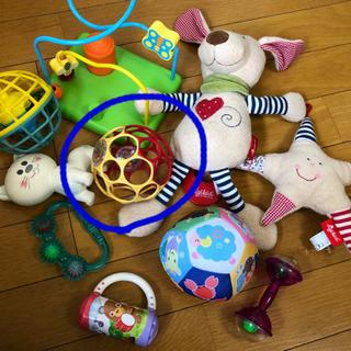 【受け渡し決定】赤ちゃんおもちゃ(オーボール)