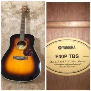 YAMAHA アコースティックギター F40P TBS 中古品