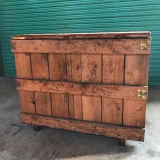 【お取引決定!】無料 大きな木箱