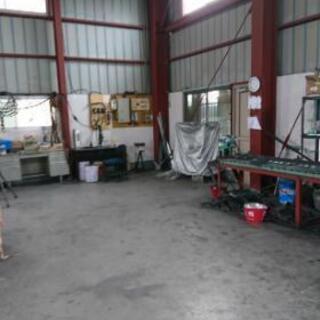 道具付きで工場を1時間3000円で貸します。製作物も作ります。自...