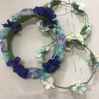 花冠 ブルー 3つ