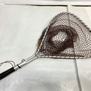 未使用品! アルミ製タモ網 幅38㎝ 全長68㎝ たも 網 釣り...