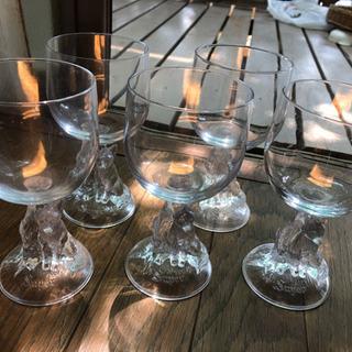 キタキツネ の グラス 5個