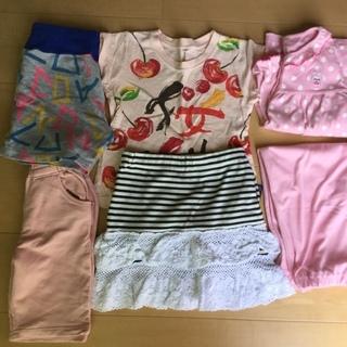 女児子供服5点   サイズ110☆パジャマ含む
