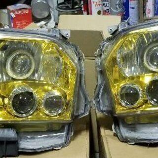 ハイエース4型 ヘッドライト バイキセノン