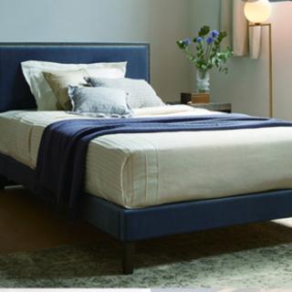 アメリカ家具 ベッドマットレス台 クィーンサイズ 2セット 状態...