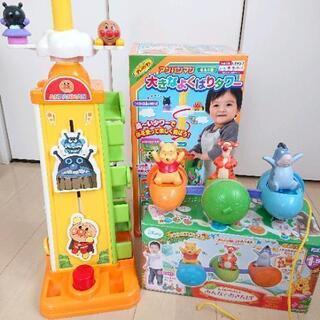 赤ちゃん 幼児 おもちゃセット ⑧ アンパンマン プーさん