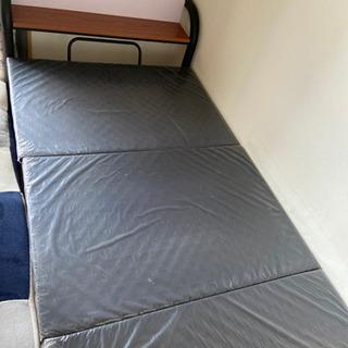 シングルベッドフレーム ブラック
