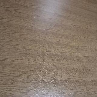 ウッドカーペット  決まりました