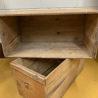 手渡し限定● 雰囲気◎インテリア ディスプレイに!木箱 ✓14箱有り✓