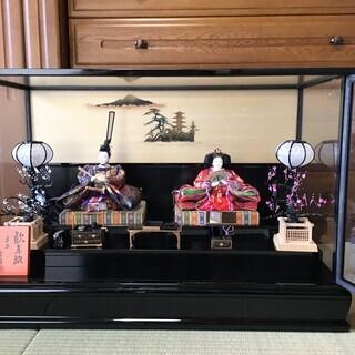 ガラスケース入り雛人形(再値下げ)