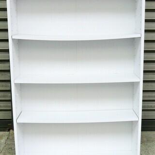 ☆4段 書棚 収納棚 書類棚・整理棚に◆使い道色々