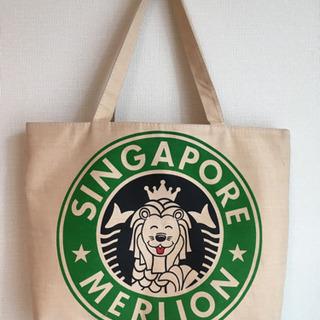 シンガポール土産 トートバッグ
