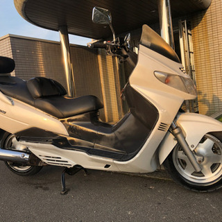 スカイウェイブ 250 CJ42 ベンツテイル ビッグスクーター