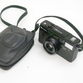 フィルムカメラ フジカ オート7 QD 35mm ブラック FU...