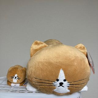 猫のぽんた ぬいぐるみ、ぬいぐるみマスコットセット