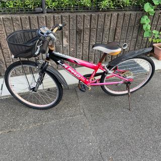 子供用自転車。24インチ。ジャンク品。