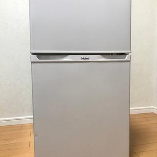 Haier 91L 2ドア冷凍冷蔵庫 JR-N91J 2015年製