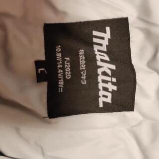 [お値下げします!]makita・ファン付ジャケット(長袖)2枚セット − 神奈川県
