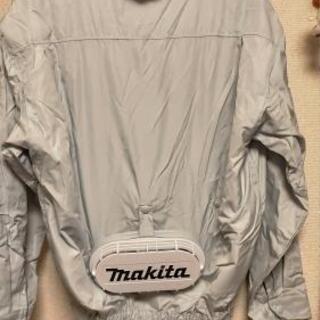 [お値下げします!]makita・ファン付ジャケット(長袖)2枚セット - 横浜市