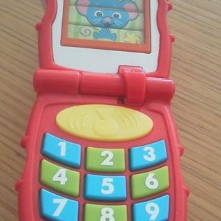 フィッシャープライス・携帯電話おもちゃ。