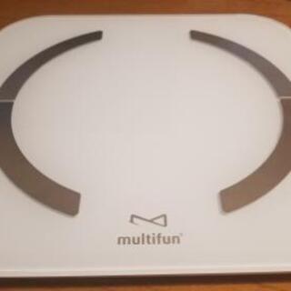 体重・体組成計 multifun