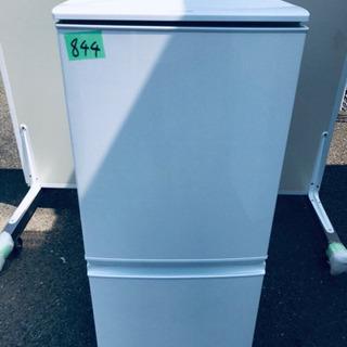 ✨高年式✨ 844番 シャープ✨ノンフロン冷凍冷蔵庫✨SJ-D1...