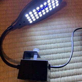 アクアリウム用ライト NISSO エアポンプ