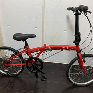 【未使用】折りたたみ自転車 DAHON SUV D6 走行数メートル