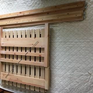 無印良品 MUJI パイン材ベッド・シングル/IKEA ニトリ