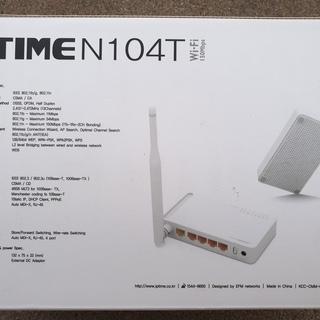 ipTIME N104Tワイヤレスルーター/ 4ポート/ワイヤレ...