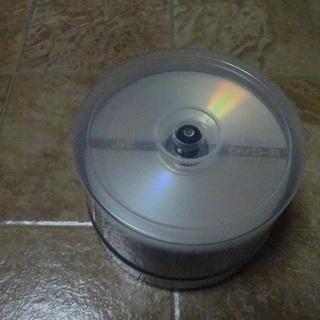 JVC DVD-R 46枚スピンドルケース入り