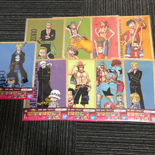 ONE PIECE クリアファイル9種類 一番くじ