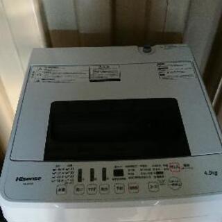 ハイセンス洗濯機