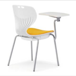 新品未使用2脚セット アイコ メモ台付きチェア テーブル付き椅子...