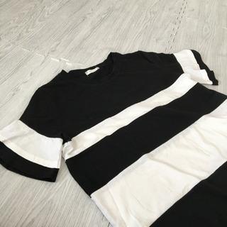 モテモテ‼️大きいサイズ  トップス   七分袖シャツ 4L