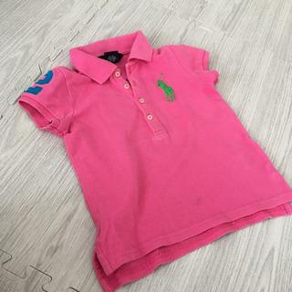 可愛いピンク☆3T ラルフローレン ポロシャツ 100