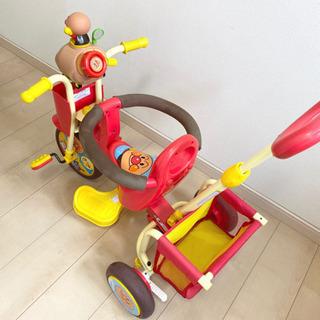 アンパンマン 三輪車 【お取引中】 - おもちゃ
