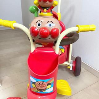 アンパンマン 三輪車 【お取引中】 - 売ります・あげます