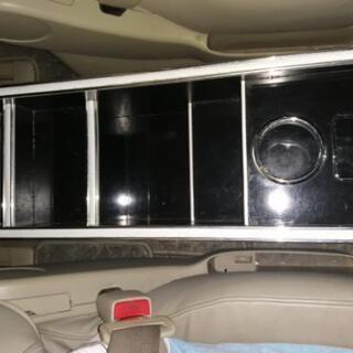 E51 エルグランドに使っていた 社外センターコンソールボックス...