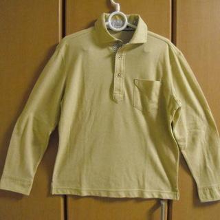 メンズ・ポロシャツSIMPLE-LIFEサイズS黄色系(新品、未使用)