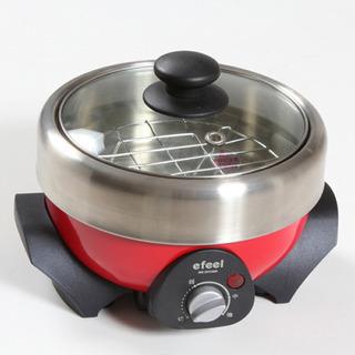 美品!マルチクッカー EMG-240  煮る焼く蒸す 1台3役!