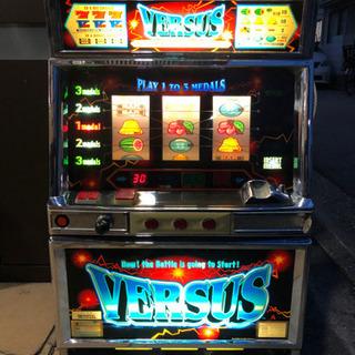 【レア】バーサス VERSUS スロット台 パチスロ実機 コイン...