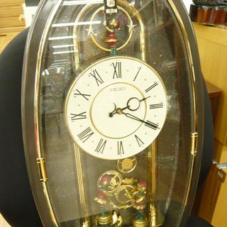 ジャンク品 SEIKO/セイコー 掛け時計 からくり時計 PUP...
