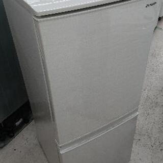 SHARP(シャープ) 137リットル 2ドア冷凍冷蔵庫 …